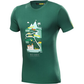 Mavic Haute Route T-Shirt Heren petrol